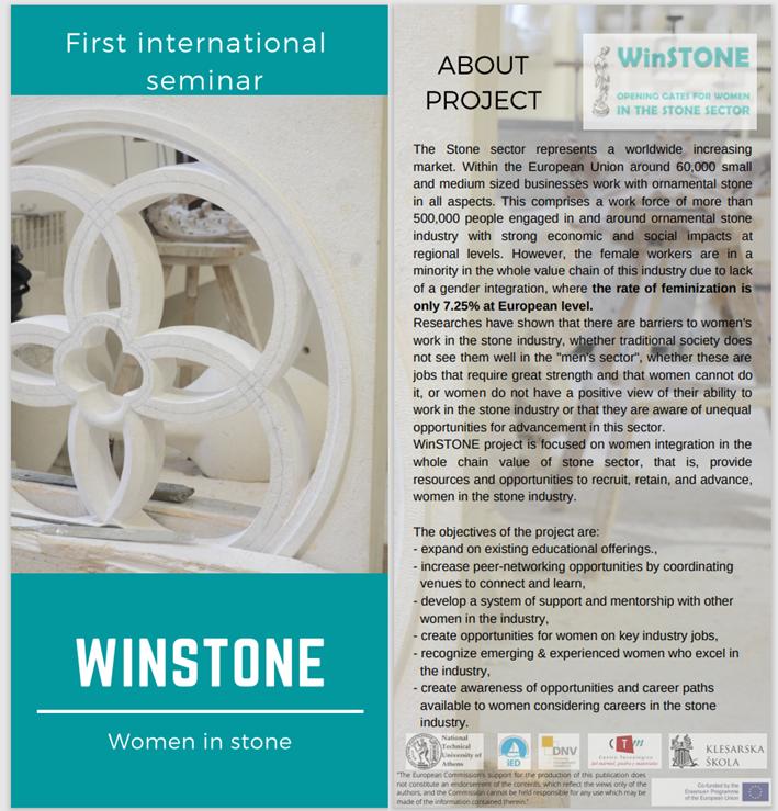 El CTM intervino en el seminario online del proyecto WinSTONE